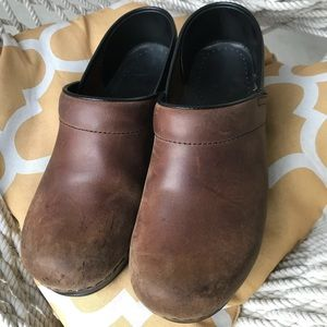 Dansko Brown Leather Clog size 39 EU